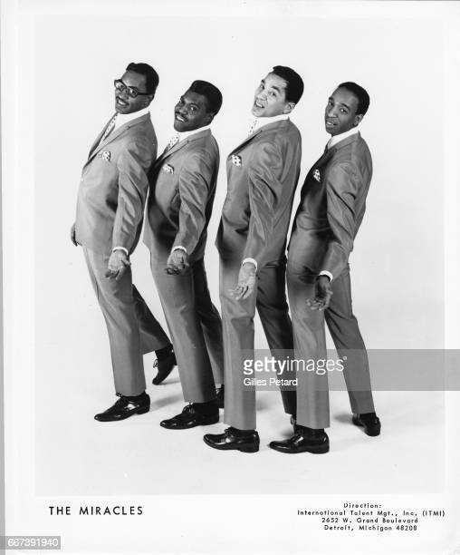 Smokey Robinson and the Miracles studio portrait United States 1965