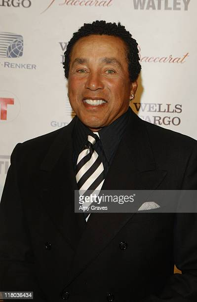 Smokey Robinson at the 2006 Rick Weiss Humanitarian Awards Presented by the Greenburg Family Foundation as a tribute to the late partner of Earl...