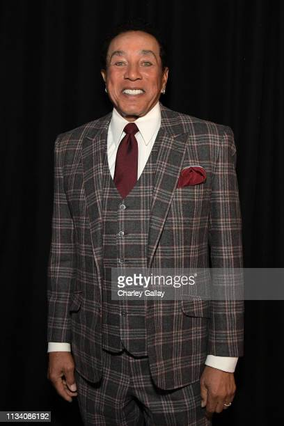 Smokey Robinson attends AllStar Lineup Pays Tribute At 'Aretha A GRAMMYCelebration For The Queen Of Soul at The Shrine Auditorium on January 13...