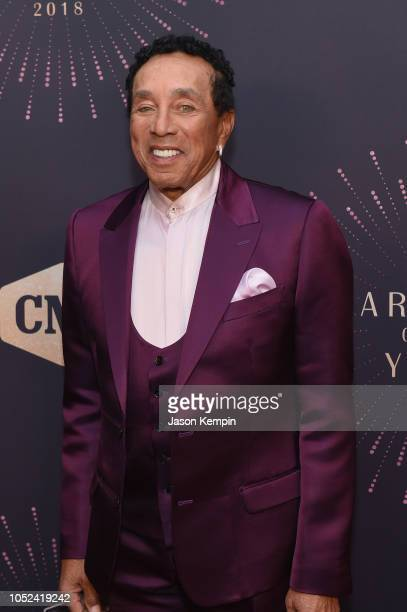 Smokey Robinson attends the 2018 CMT Artists of The Year at Schermerhorn Symphony Center on October 17 2018 in Nashville Tennessee