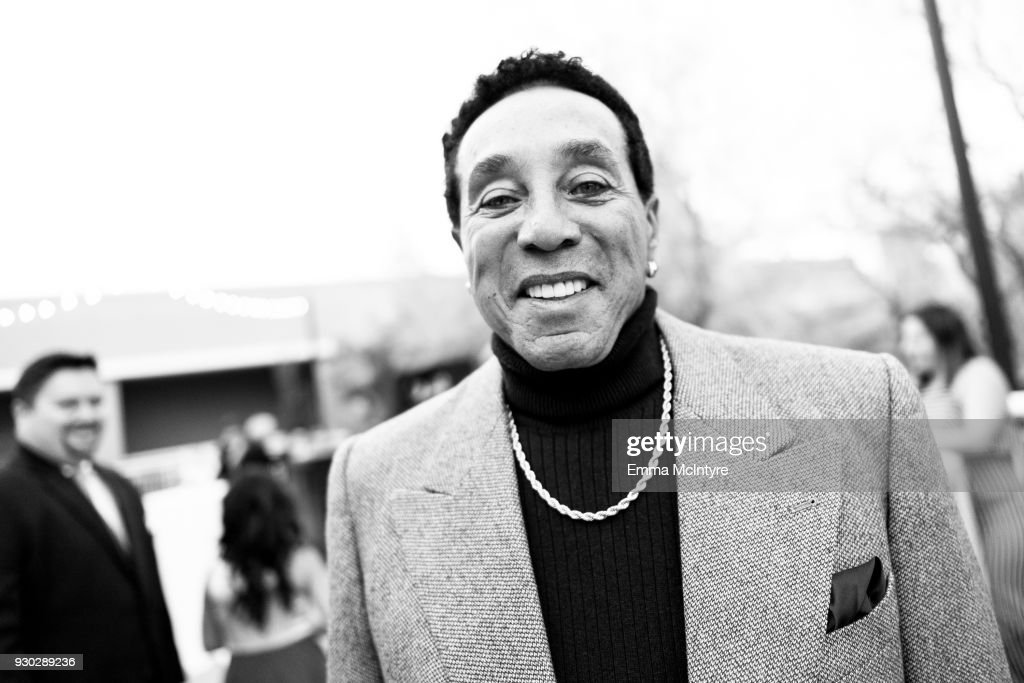 Smokey Robinson attends the Celebrity Fight Night's Founders Club Dinner on March 9, 2018 in Phoenix, Arizona.