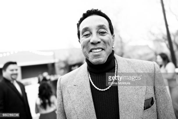 Smokey Robinson attends the Celebrity Fight Night's Founders Club Dinner on March 9 2018 in Phoenix Arizona