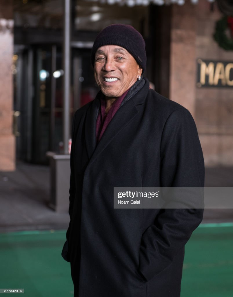 Smokey Robinson attends the rehearsals for the 91st Annual Macy's Thanksgiving Day Parade on November 21, 2017 in New York City.