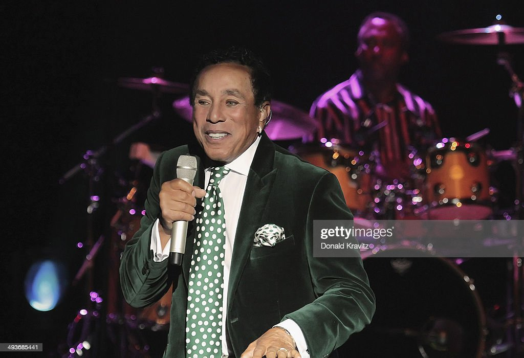 Smokey Robinson performs at Harrah's Resort on May 24, 2014 in Atlantic City, New Jersey.