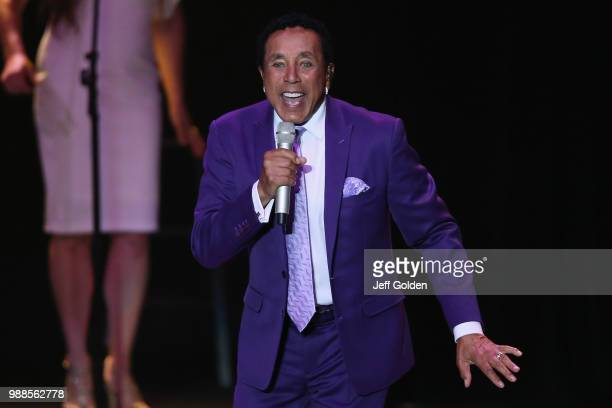 Smokey Robinson performs at The Greek Theatre on June 30 2018 in Los Angeles California