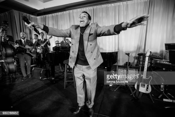 Smokey Robinson performs onstage at the Celebrity Fight Night's Founders Club Dinner on March 9 2018 in Phoenix Arizona