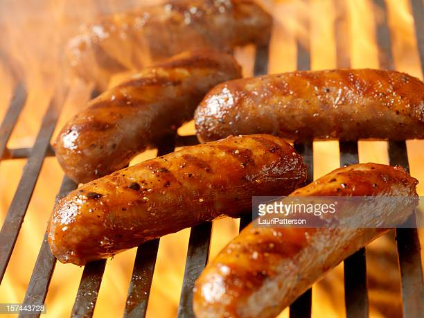 BBQ Smokies on the Grill