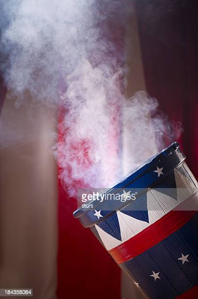 smoking canon - cannon stock pictures, royalty-free photos & images