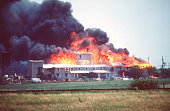 Smoking fire consumes the branch davidian compound during the fbi to picture id526769052?s=170x170