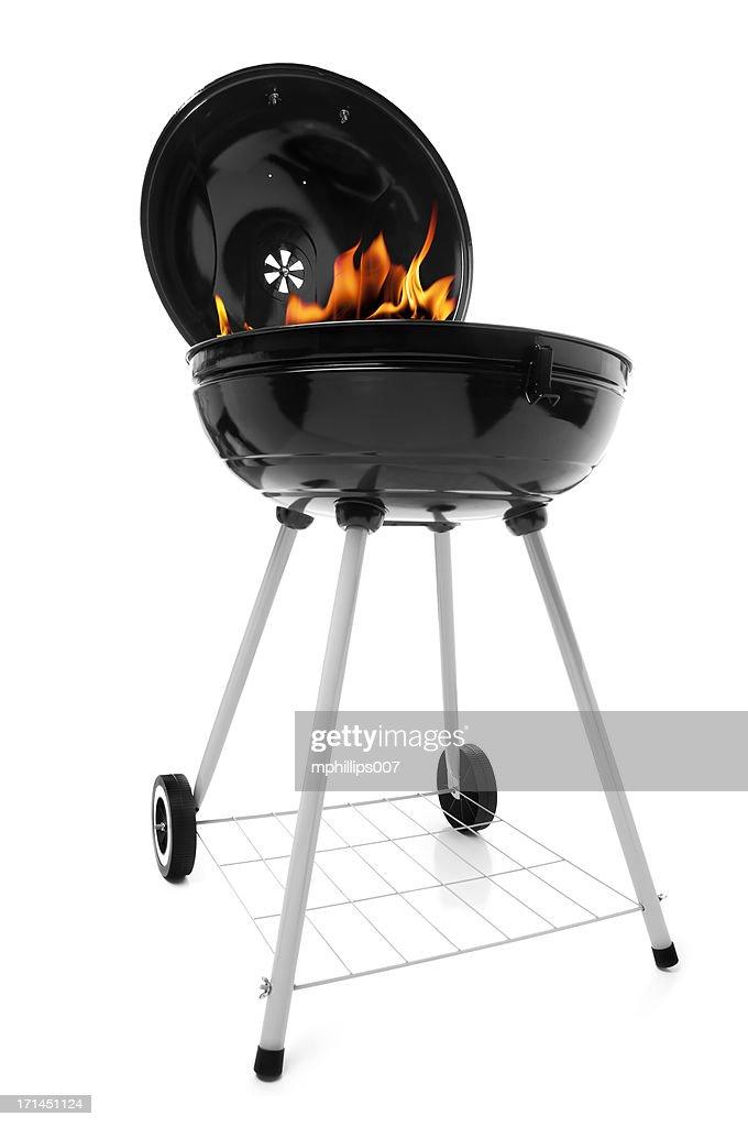 Smoking Grill : Stock Photo