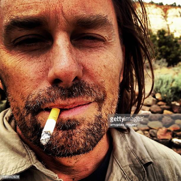 smoking - dry mouth stock photos and pictures