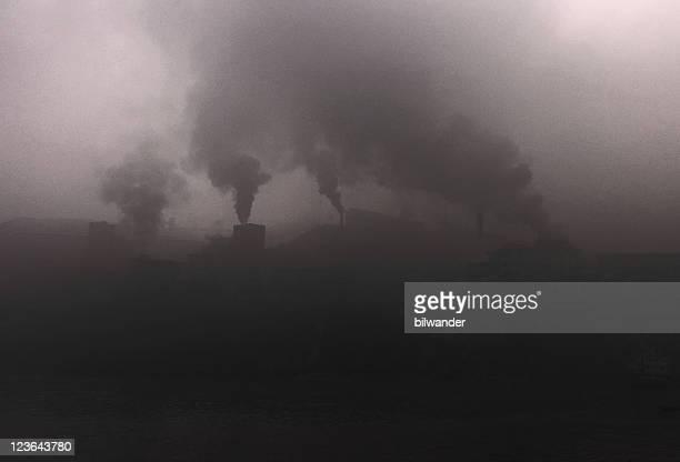 Smoking power plants