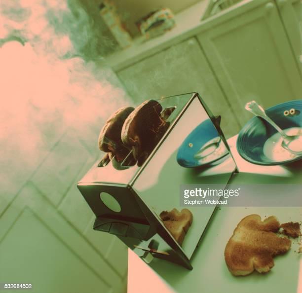 Smoking toast