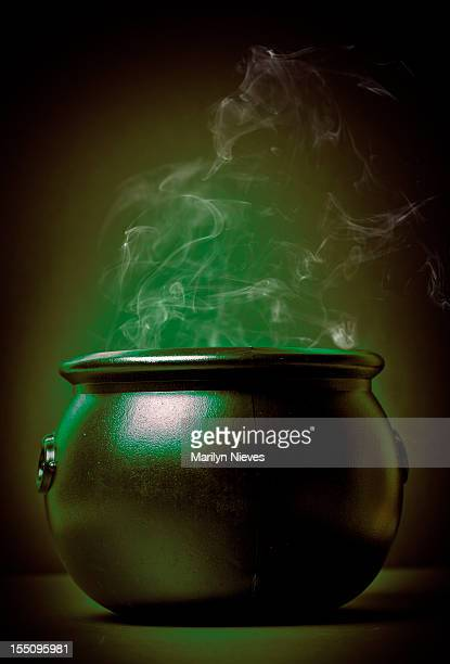 smoking witch's pot