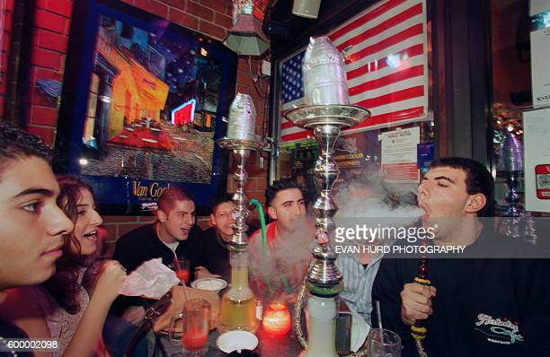 Smoking with friends at Hookah Lounges is a hot trend that continues the age-old tradition that began in India a thousand years ago.
