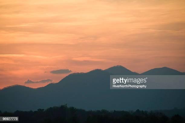 Smoky Mountain Sunset, North Carolina