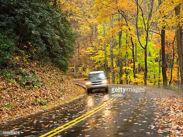 Smoky Mountains Autumn Roads Series