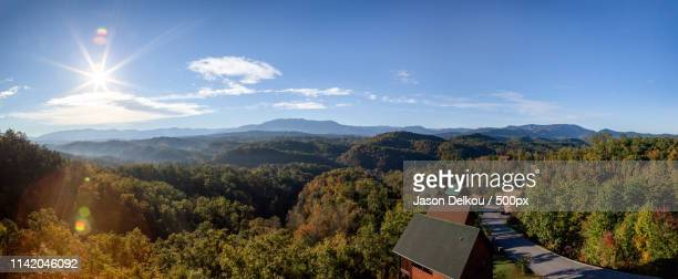 smoky mountains - pigeon forge stock pictures, royalty-free photos & images
