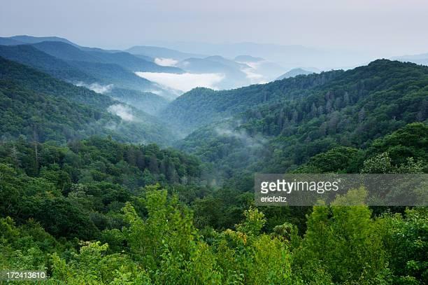 Montanhas efeito Smoky