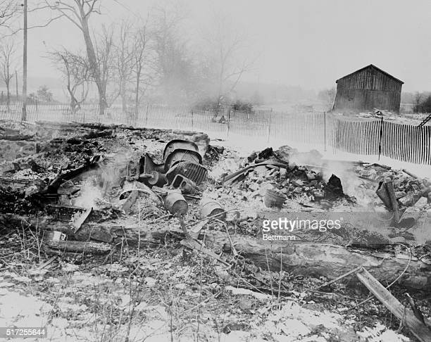 Smoldering ruins is all that remains of the House of Horrors after a fire of undetermined cause destroyed the two story frame building on March 20,...