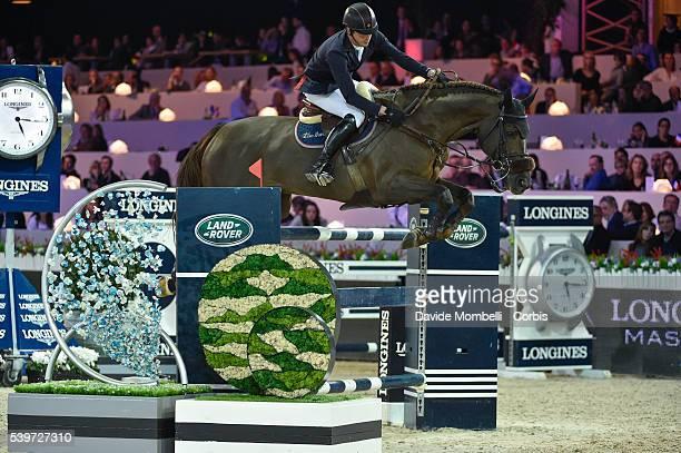 Smolders Harrie Don VHP Z durin the Longines Grand Prix CSI5* Paris 2015