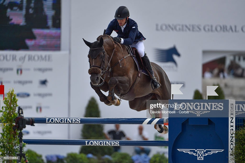 Longines Global Champions Tour of Rome : News Photo