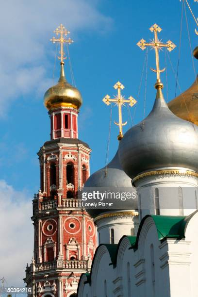 Smolensk Cathedral and Bell Tower at Novodevichy Convent.