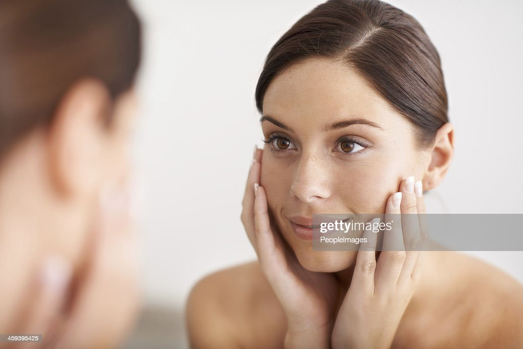Smooth, flawless skin : Stock Photo