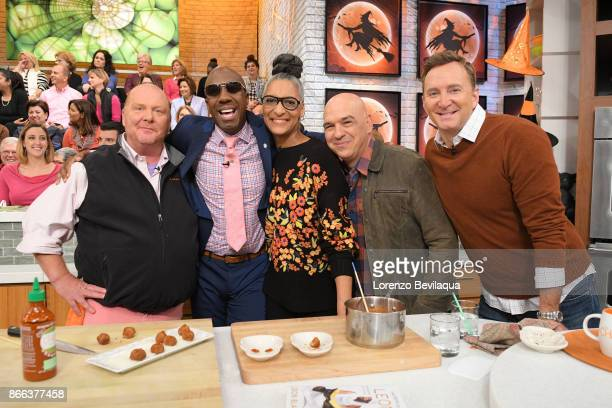 Smoove and Gail Simmons are the guests Wednesday October 25 2017 on ABC's 'The Chew' 'The Chew' airs MONDAY FRIDAY on the ABC Television Network MARIO