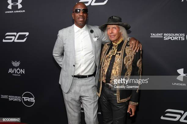 J B Smoove and James Goldstein Attend Tequila Avion hosts NBA AllStar After Party presented by Talent Resources on February 17 2018 in Beverly Hills...