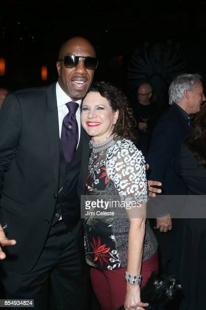 B Smoove and Susie Essman attend the 'Curb Your Enthusiasm' Season 9 premiere after party at TAO Downtown on September 27 2017 in New York City