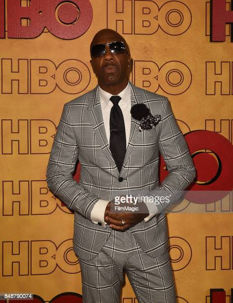 B Smoove attend the HBO's Official 2017 Emmy After Party at The Plaza at the Pacific Design Center on September 17 2017 in Los Angeles California