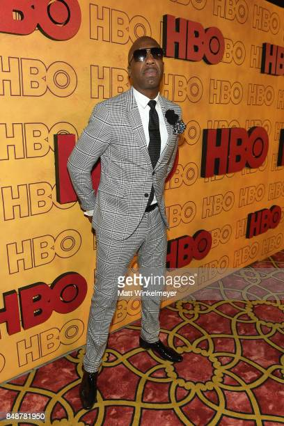 J B Smoove attends HBO's Post Emmy Awards Reception at The Plaza at the Pacific Design Center on September 17 2017 in Los Angeles California