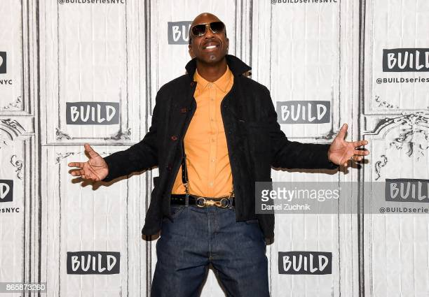 Smoove attends the Build Series to discuss his new book 'The Book of Leon Philosophy of A Fool' at Build Studio on October 24 2017 in New York City