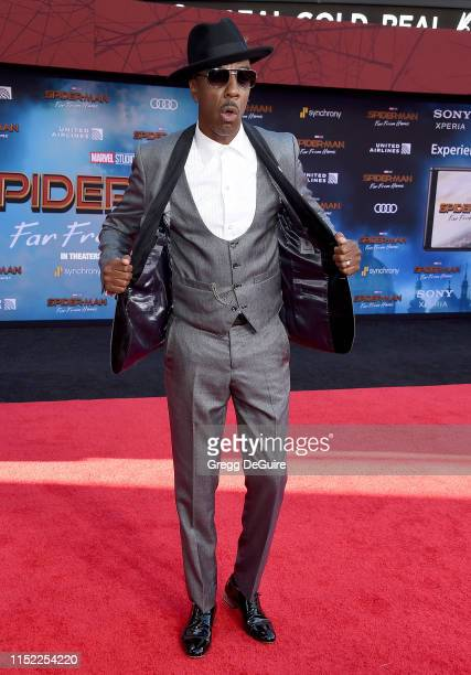 """Smoove attends the premiere of Sony Pictures' """"Spider-Man Far From Home"""" at TCL Chinese Theatre on June 26, 2019 in Hollywood, California."""