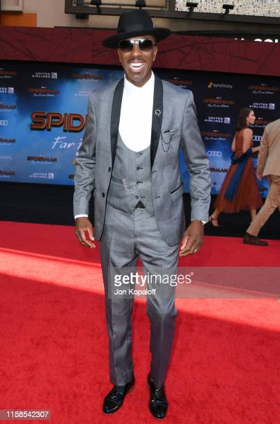 J B Smoove attends the Premiere Of Sony Pictures' SpiderMan Far From Home at TCL Chinese Theatre on June 26 2019 in Hollywood California