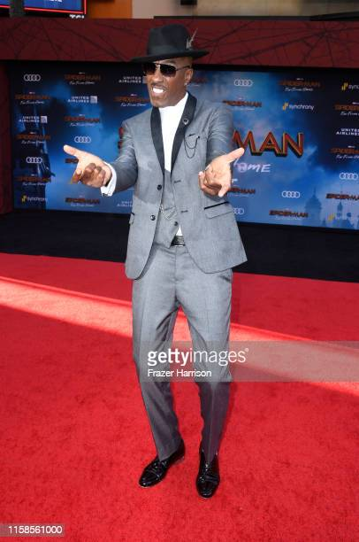 B Smoove attends the Premiere Of Sony Pictures' SpiderMan Far From Home at TCL Chinese Theatre on June 26 2019 in Hollywood California