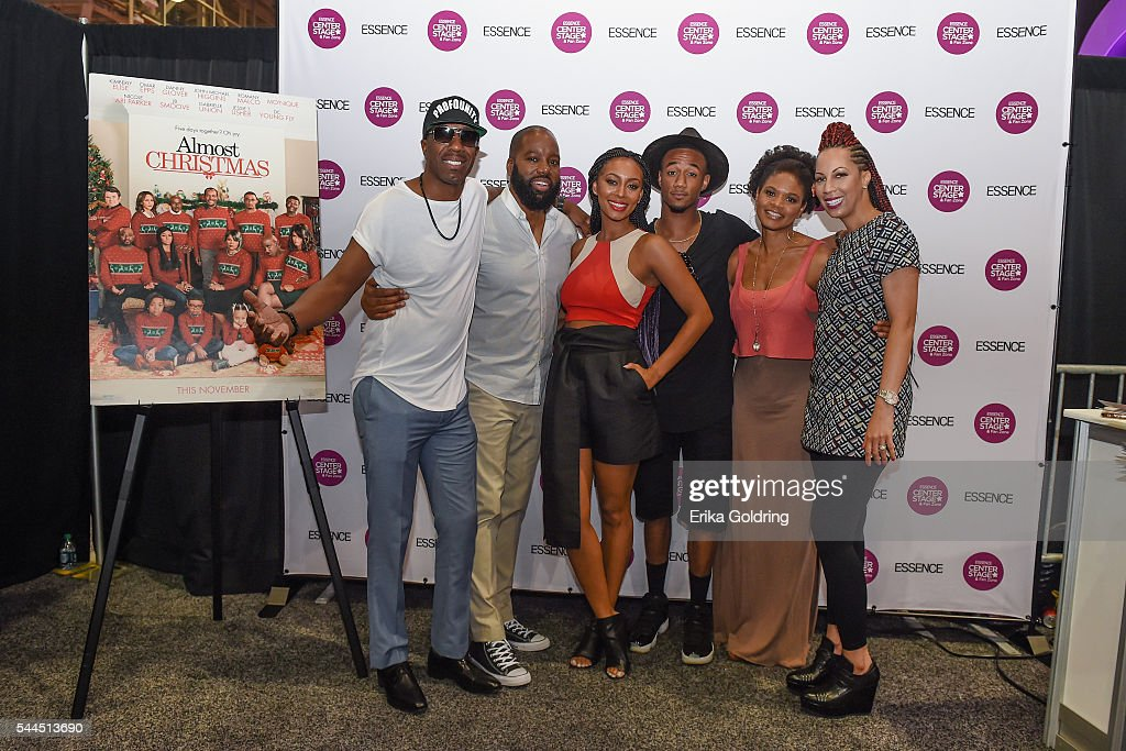 Photos et images de ALMOST CHRISTMAS Cast Members Kimberly Elise ...