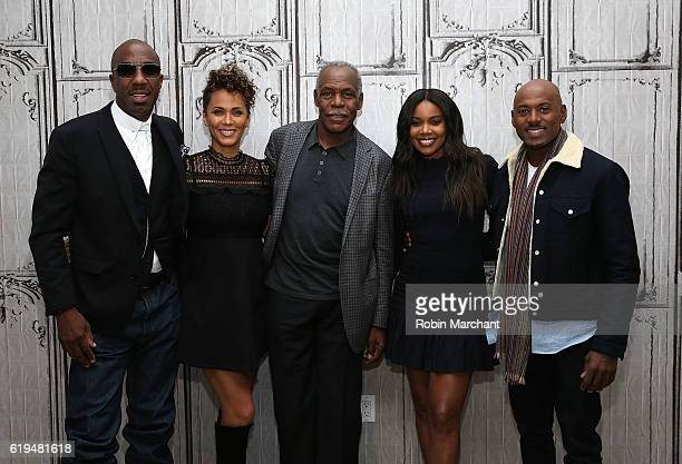 B Smoove Nicole Ari Parker Danny Glover Gabrielle Union and Romany Malco attend The Build Series Presents 'Almost Christmas' at AOL HQ on October 31...
