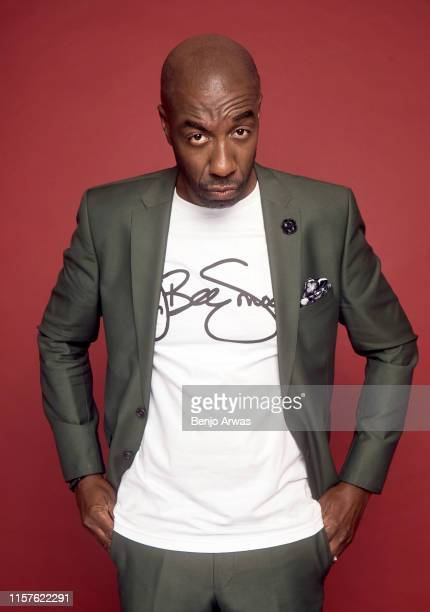 J B Smoove of DC Universe's 'Harley Quinn' poses for a portrait during the 2019 Summer TCA Portrait Studio at The Beverly Hilton Hotel on July 23...
