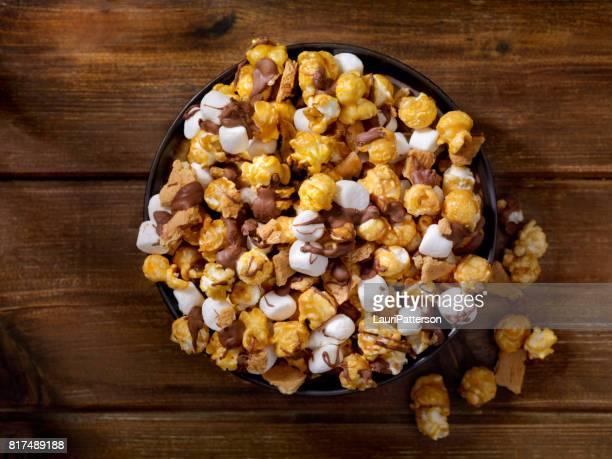 Smores Karamell-Popcorn