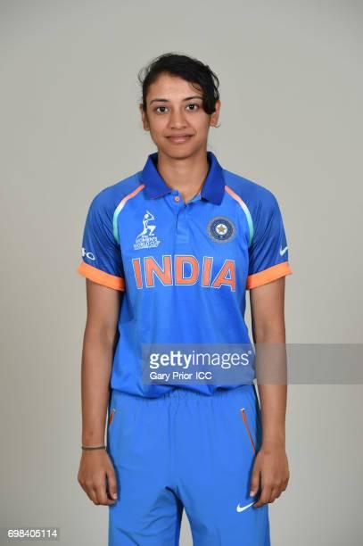 Smriti Mandhana of India on June 20 2017 in Derby England