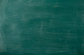 Smudged blank blackboard texture background