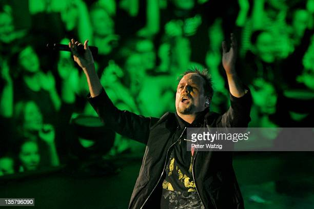 Smudo of 'Die Fantastischen Vier' performs on stage at the ISS Dome on December 14 2011 in Duesseldorf Germany