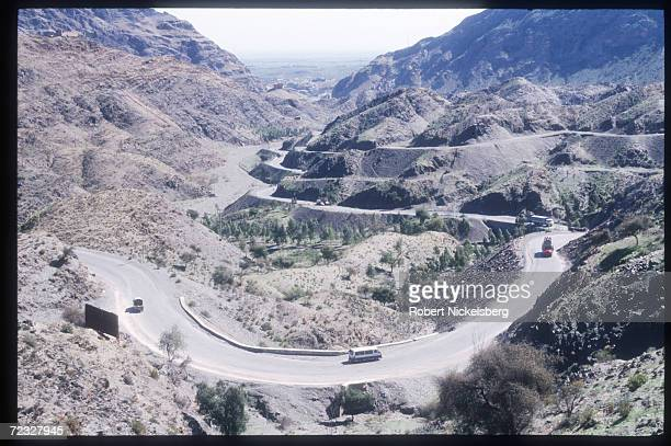 Smugglers transport contraband March 15 1999 through the Khyber Pass region in Pakistan In order to bypass Islamabad jurisdiction and taxation human...