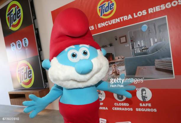 Smurf attends Safe Kids Day 2017 at Smashbox Studios on April 23 2017 in Culver City California