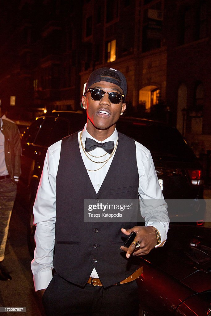 B. Smyth attends the Moet Rose Lounge Chicago hosted by Fabolous at Drum Bar at the Raffaello Hotel on July 6, 2013 in Chicago, Illinois.