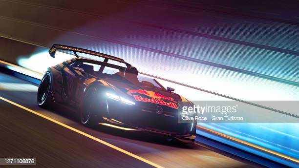Nabetani of Japan in action during the Asia Top 16 Superstars Round 8 of the FIA Gran Turismo Championship 2020 run on the Tokyo Expressway circuit...