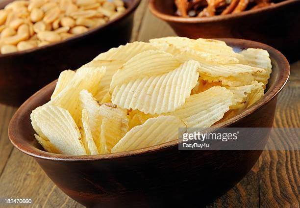 軽食 - 塩味スナック ストックフォトと画像
