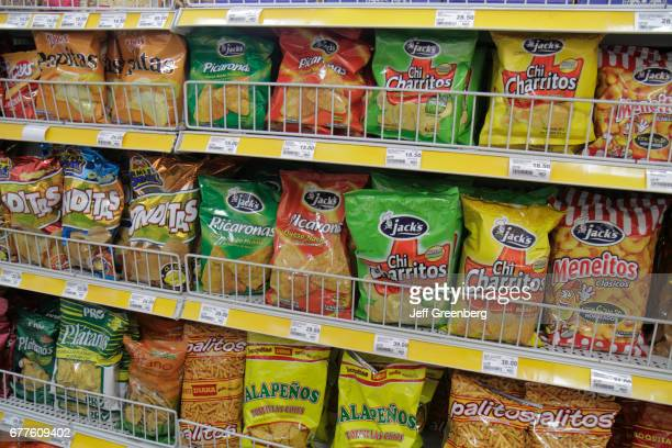 Snacks for sale at On the Run Convenience Store